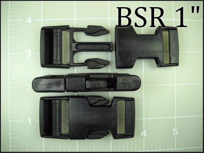 BSR 1 (made in USA 1 inch acetal side release)