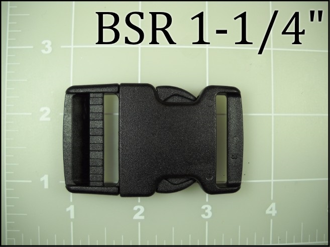 BSR 114 (1-1/4 inch acetal side release)