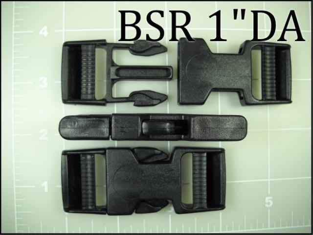 BSR 1DA (1 inch Double Adjusting acetal side release)