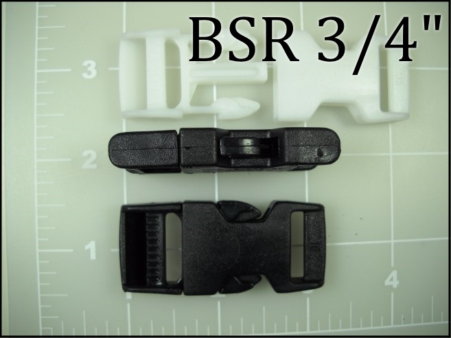BSR 34 and BSR 34WH (3/4 inch acetal side release) ACW