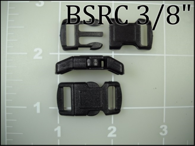 BSRC 38 (3/8 inch acetal curved side release) pet collar plastic