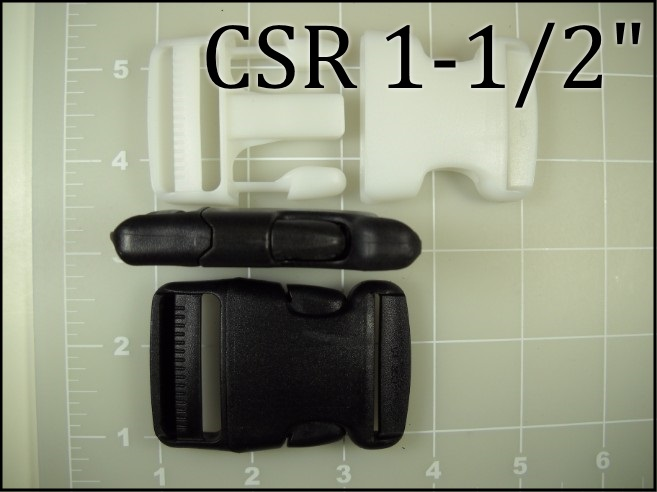 CSR 112 and CSR 112WH (1-1/2 inch acetal side release)