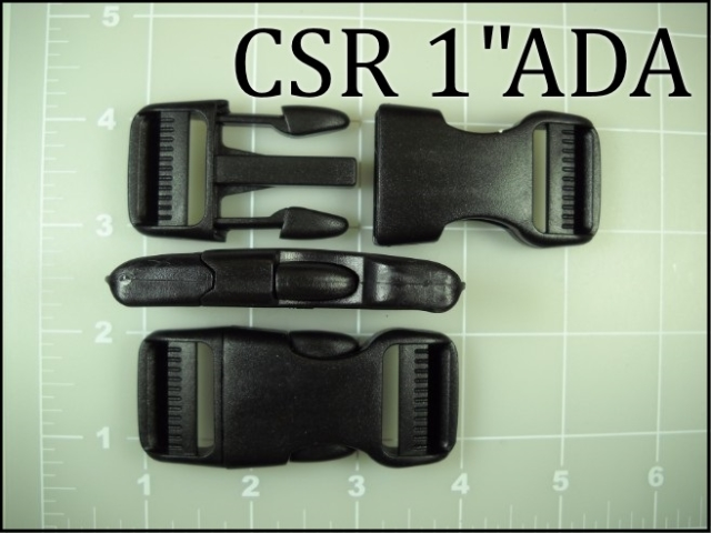 CSR 1ADA (1 inch Double adjusting acetal side release)
