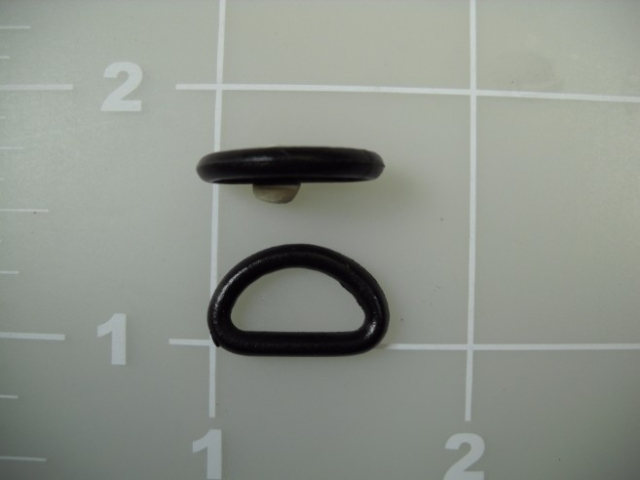 plastic nylon dee ring