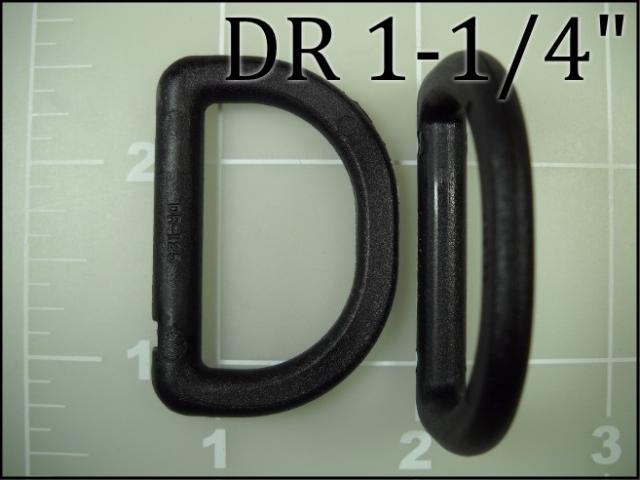 1-1/4 inch acetal plastic dee ring