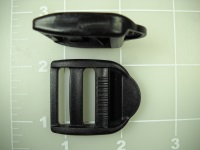 ladder locks double bar buckles plast