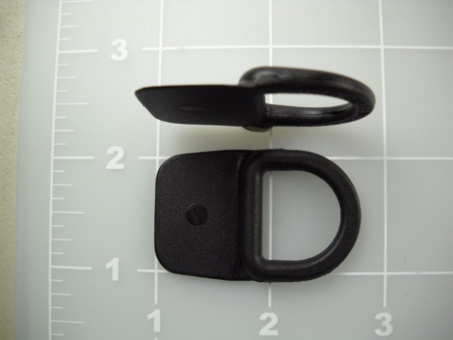 "3/4"" sewable dee rings plastic"