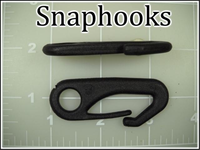 black plastic snap hooks snaphooks acetal nylon