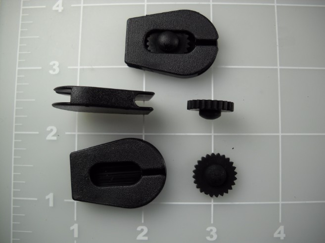 cord lock wheel lock plastic