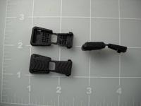 plastic zipper pulls