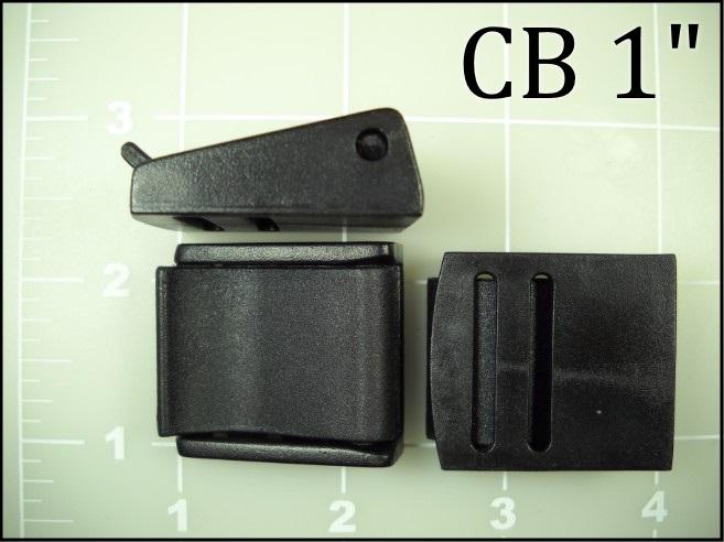 1 inch cam buckle plastic acetal