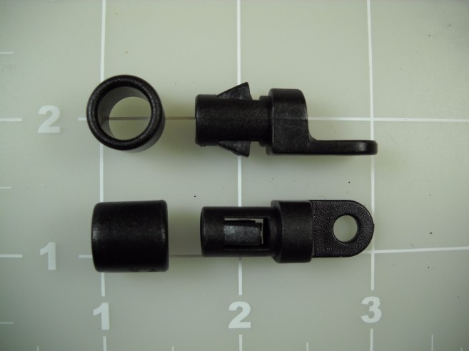cord end eye plastic