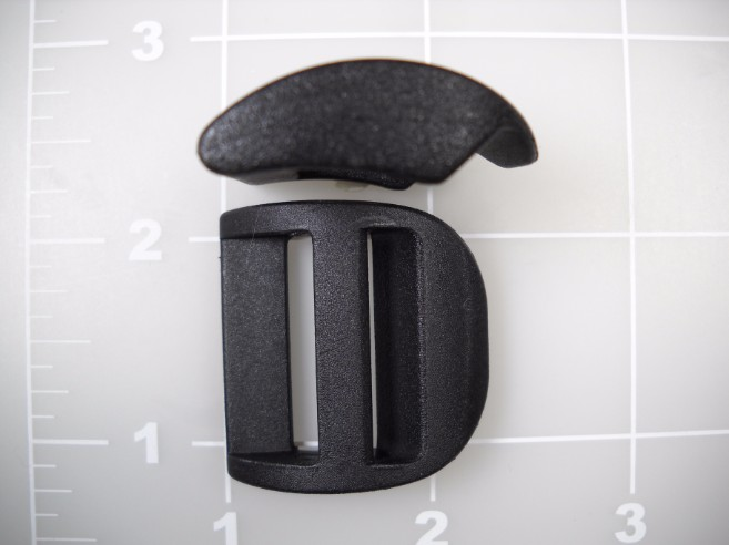 1 inch acetal compact double bar buckle)