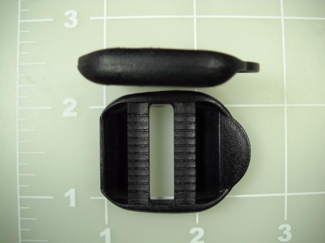 "1"" plastic acetal double locking double bar"