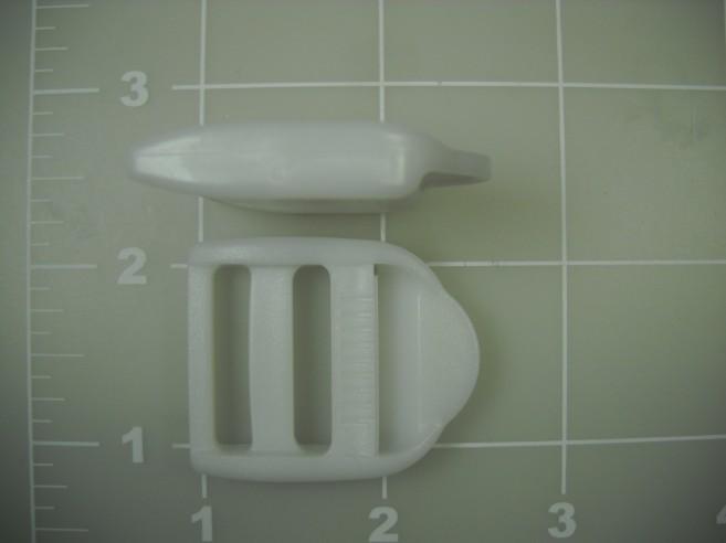 "1"" plastic single locking double bar acetal ladder lock"