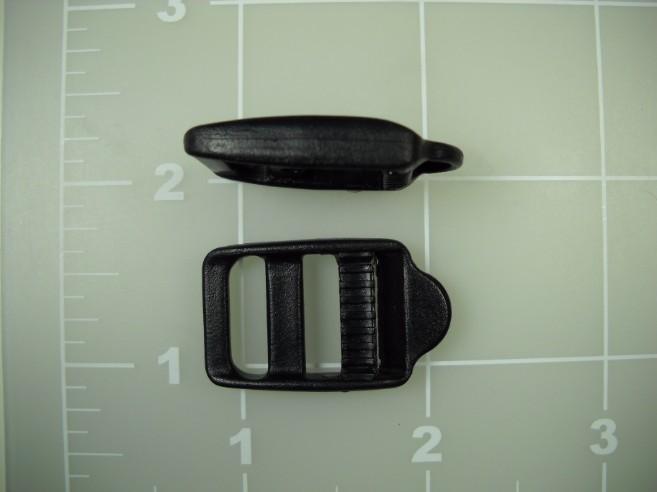 "5/8"" acetal single locking double bar buckle"