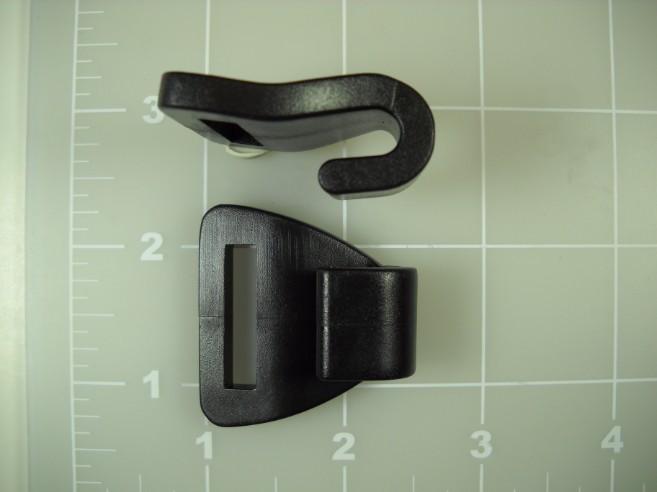 "plastic 1"" gutter hook"