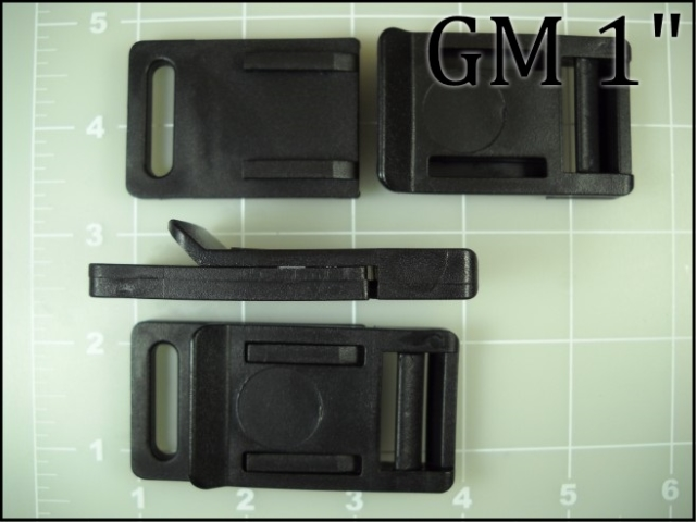1 inch plastic release buckle GM