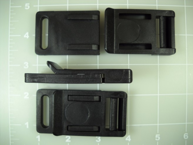1 inch plastic release buckle