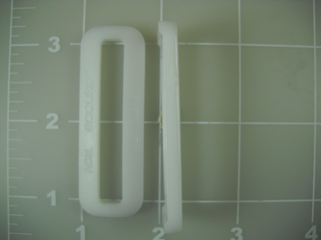 acetal plastic loop rectangle rectangular