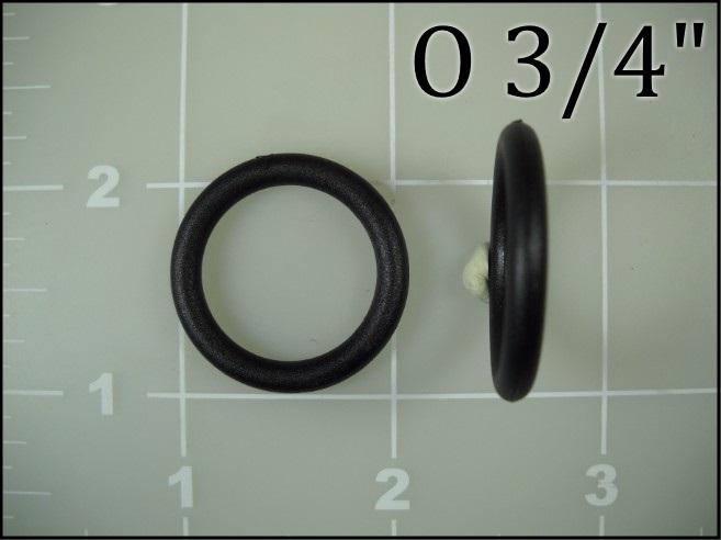 3/4 inch round ring o ring nylon plastic