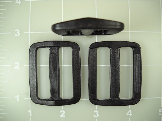 "1-1/2"" plastic acetal wide mouth gap slide slider"