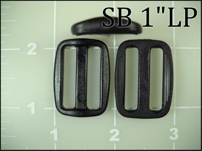 SB 1LP  (1 inch acetal low profile slide)