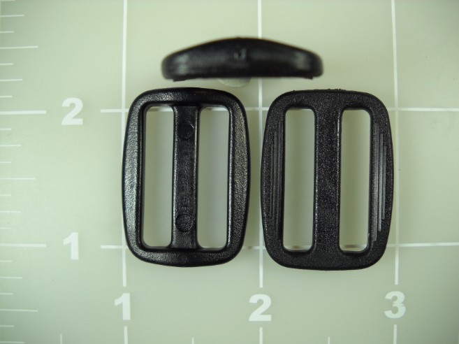 "1"" acetal plastic low profile slide slider"