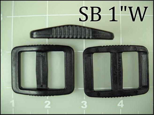 SB 1W   (1 inch acetal wide gap slide)