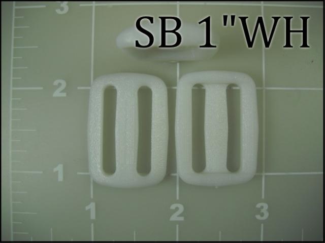 SB 1WH  (1 inch acetal slide)