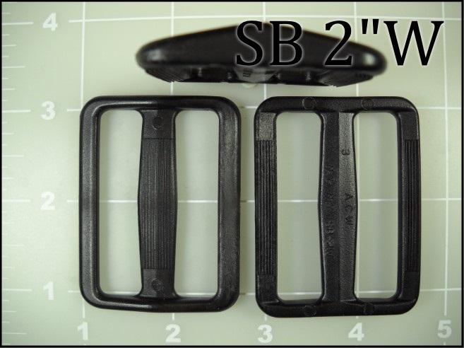 SB 2W  (2 inch acetal wide gap slide) slider