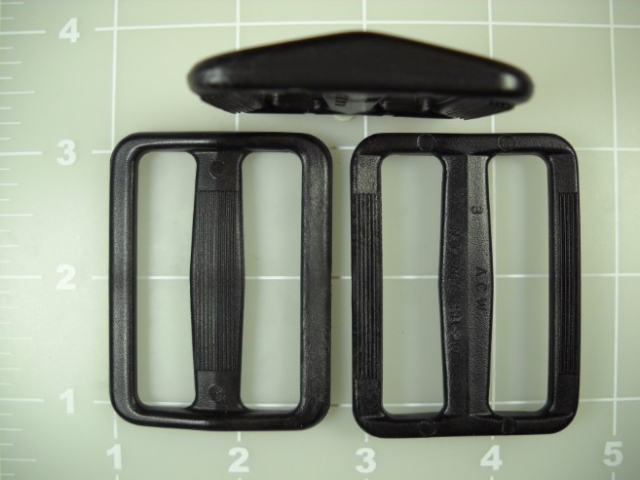 "2"" acetal plastic wide mouth gap slide"