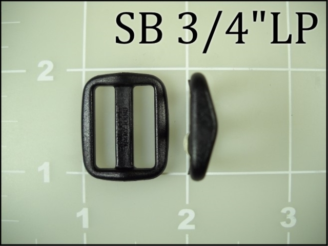 SB 34LP  (3/4 inch acetal low profile slide)
