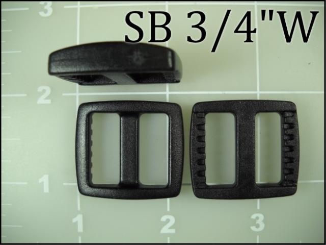 SB 34W  (3/4 inch acetal wide gap slide)