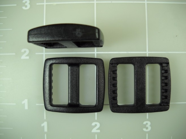 "3/4"" acetal plastic wide gap mouth slide slider"
