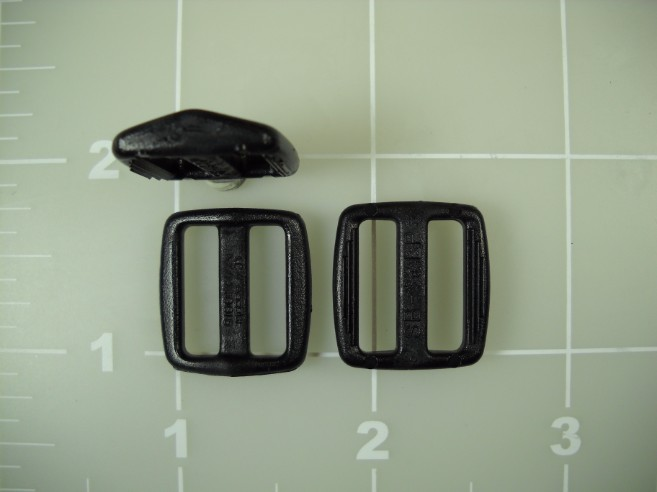 "5/8"" acetal plastic low profile slide slider"