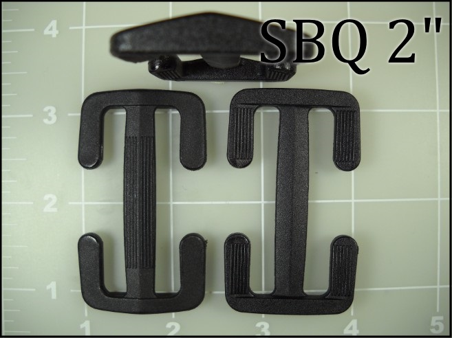SBQ 2  (2 inch acetal slider with open sides) slider field replace