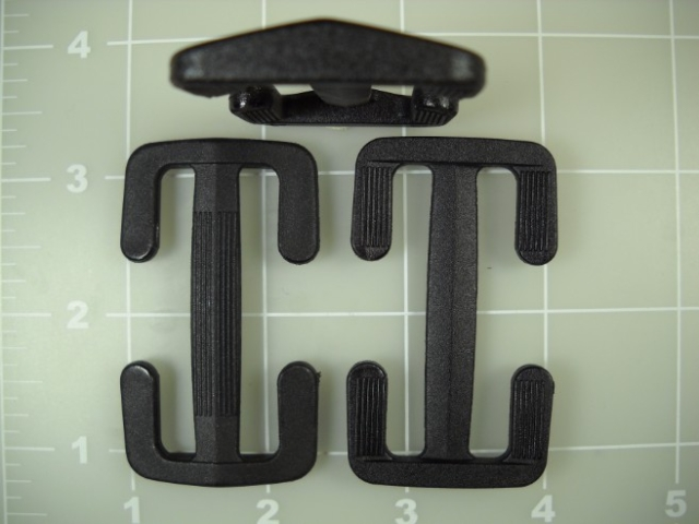 "2"" acetal sliders open sides slide"