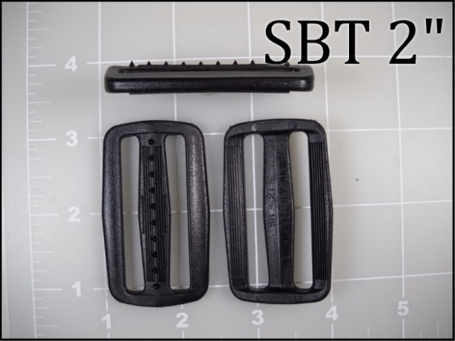 SBT 2  (2 inch acetal slide with teeth) slider