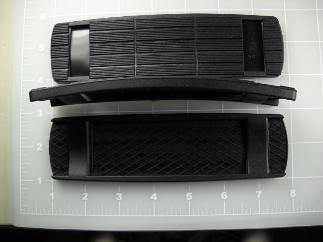 elastomer plastic shoulder pad