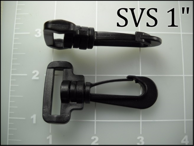 SVS 1  (1 inch acetal snap hook) ACW PLASTIC