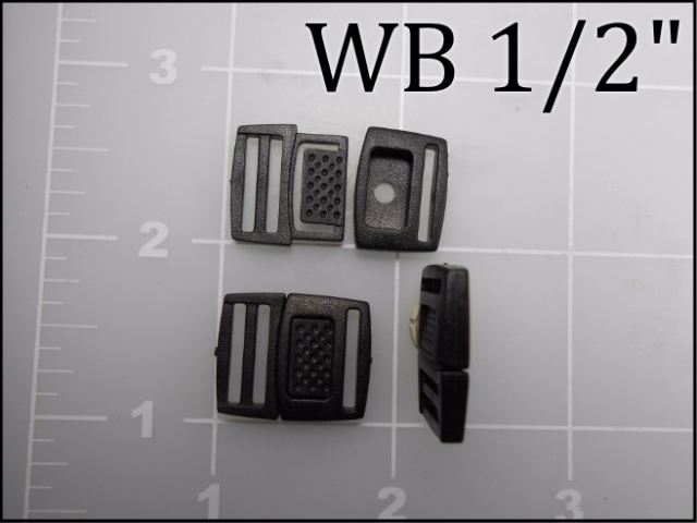 watch band buckle plastic acetal WB 1/2""
