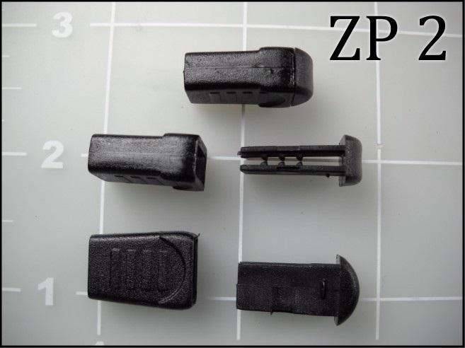 ZP 2  (2 piece acetal zipper pull)