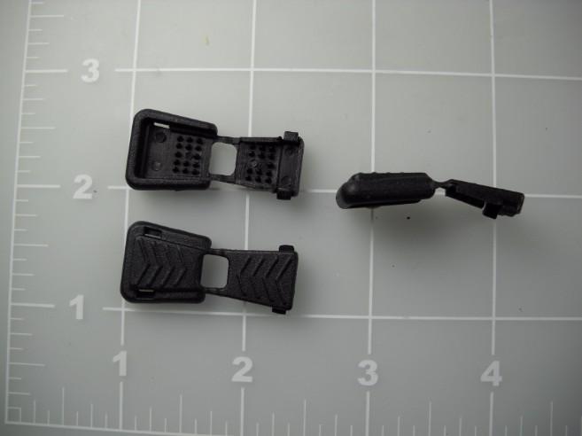 plastic acetal zipper pull
