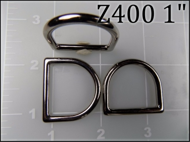 Z400 1  - - 1 inch zinc die cast dee ring