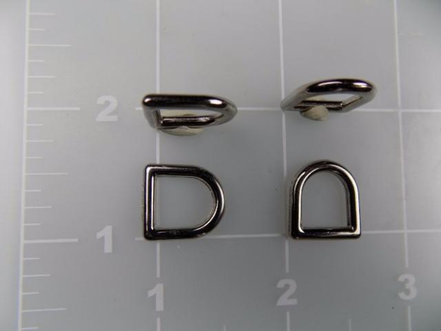 """inch zinc die cast dee ring 3/8"""" metal"""
