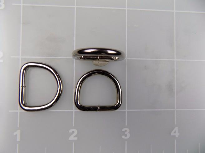 """5/8"""" welded metal dee ring steel"""