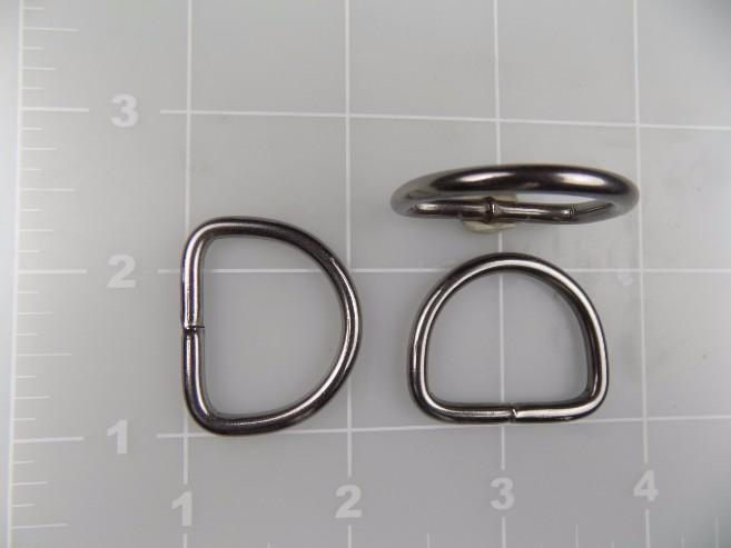 "1"" welded stainless steel dee ring"