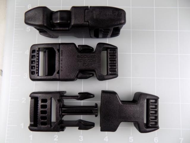 plastic acetal side release buckle strong heavy duty