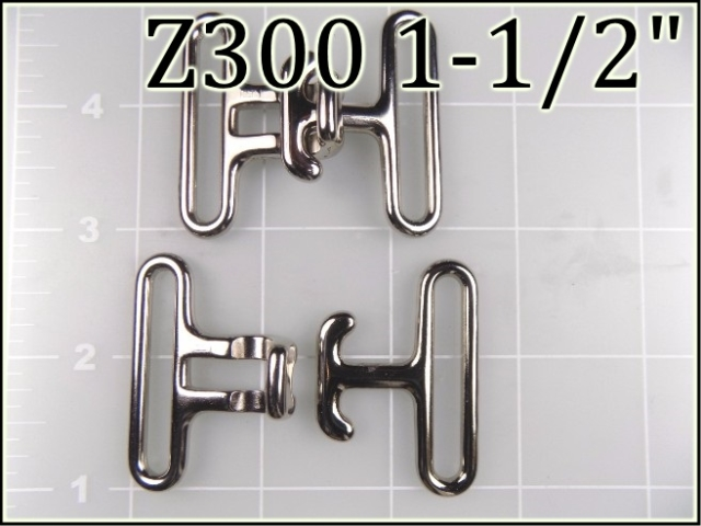 Z300 112  - - 1-1/2 inch zinc die-cast surcingle